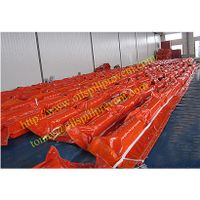 PVC floating oil spill prevention boom from Evergreen Properity in Chinese(Qingdao Singreat)