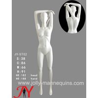 Jolly Mannequins- China mannequins factory female athlete sport stretching shoulder overhead stretch