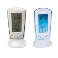 Frozen LED Digital Desk Alarm Clock Electronic Watch Calendar Thermometer thumbnail image