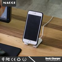qi wireless magnetic smart phone charger