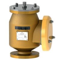 FST420 Deflagration end-of-line flame arrester with pressure and vacuum valves