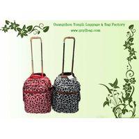 colorful dot trolley backpacks thumbnail image