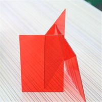 XINHAI colored uv protection 100% GE lexan solid polycarbonate sheet