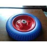400-8 Solid Flat Free PU Foam Wheel for Wheel Barrow/ Hand Trolley