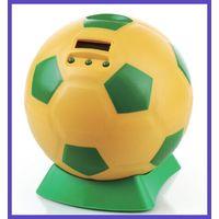 Football Shape Digital Piggy Bank thumbnail image