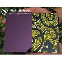 YUKE Stain-like effect glass frosting powder