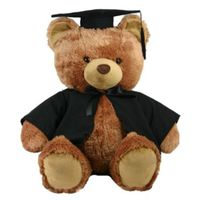 Customized your Graduation Gift, Teddy Bear with shirt Logo Printed
