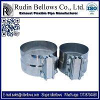 Stainless steel exhaust pipe flexible for clamp
