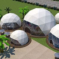Custom Spherical House Geodesic Dome House for Hotel/Garden/Park
