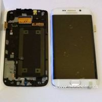 Samsung S6 edge oem new LCD assembly with frame thumbnail image