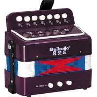 kids bass musical button toy accordion for sale thumbnail image