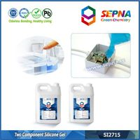 Transparent Silicone Gel For Electronics Potting SI2715