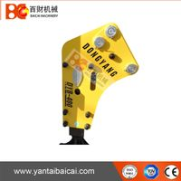 Korean dongyang hydraulic rock breaker hammer with 68mm chisel