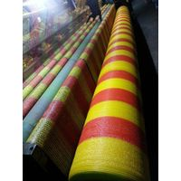 1x50m Orange and Yellow Color Road Woven Barrier Fence