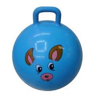 jumping ball with handle