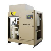 Belt driven VSD rotary screw air compressor