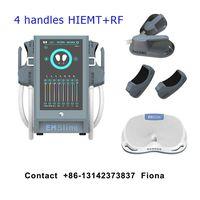 4 handles EMSculpt EMSlim HIEMT Pro HIFEM RF EMS Muscle Stimulation Device EMS Sculpting