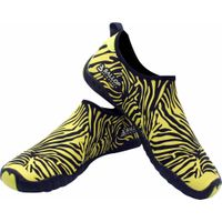 Aqua Shoes, Water Shoes, Surfing Shoes, Fitenss Shoes, Gym Shoes, Yoga Shoes-Zebra Yellow