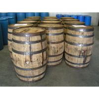 Used oak barrels