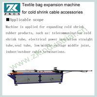 Textile bag expansion machine