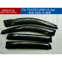 toyota 2012 vigo door visor black color