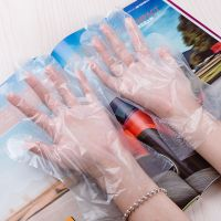 Disposable Transparent HDPE PE Plastic Gloves