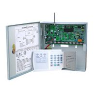 8 zone wired alarm system with 16 wireless zone thumbnail image
