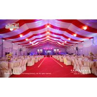 500 People Clear Span Tent with Roof Lining for Weddings and Parties