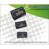 JFX-Premium metallized polypropylene film capacitor--axial