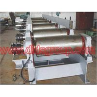 Roll way of continuous casting machine
