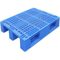 High quality Single Faced Heavy Duty Pallet Steel Reinforced Rack Plastic hdpe pallet thumbnail image