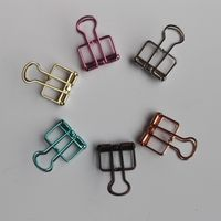 19mm small size binder clip