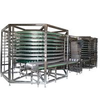 Spiral Cooling Conveyor for cake