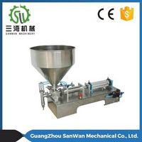 Stainless Steel Semi-automatic Liquid / Paste Filling Machine