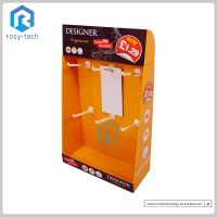 Customized Paperboard Counter Display With Pegs For Electronic Product Accessories thumbnail image