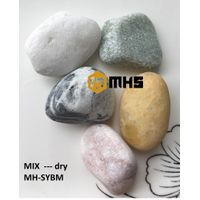 Mixed color Decorative Tumbled Pebble Stone variety of sizes