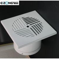 Square aluminum floor diffuser