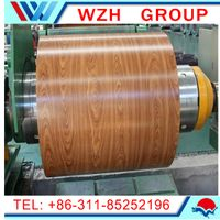 Wood grain / Brick partten ppgi steel coils to Yemen