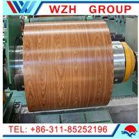 Wood grain / Brick partten ppgi steel coils to Yemen