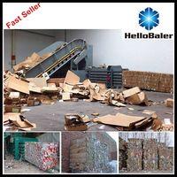 2015 Best Sell Automatic  Hydraulic Paper Baling Machine
