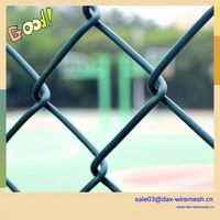 chain link fence(pvc & galvanized)