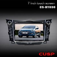 CAR DVD PLAYER WITH GPS FOR HYUNDAI I30 2012