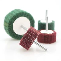 Cylindrical Flap wheel flap disc with shaft abrasive flap buffing Wheel grinding wheel disc thumbnail image