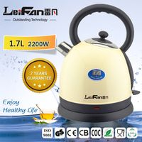 1.7L Good Quality Boiling Water Stainless Steel Electric Kettle