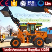 17.front loader 3ton with powerful engine 936 model wheeled loader