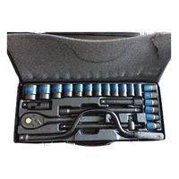 25pcs Socket set for car wrench tool set box