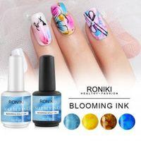 RONIKI Marble InkGel Polish china factory Nail Painting Color Gel