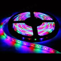 Free ship 3528 SMD LED Strip living room light, LED Flexible strip, NO-water proof, warm white