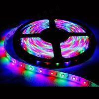 Free ship 3528 SMD LED Strip living room light, LED Flexible strip, NO-water proof, warm white thumbnail image