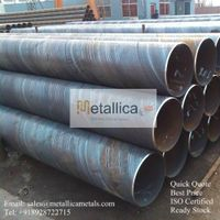 SSAW Steel Pipes (Spiral Welded Pipes)